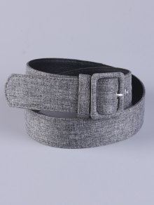 PU Leather Pin Buckle Belt