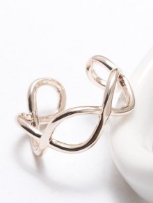 Filigree Infinity Cuff Ring