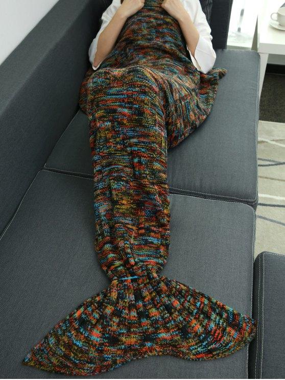 Wrap Mermaid Tail Blanket -   Mobile