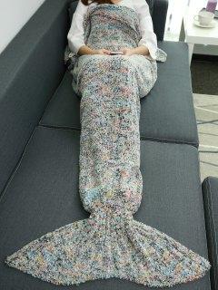 Sleeping Bag Wrap Mermaid Blanket