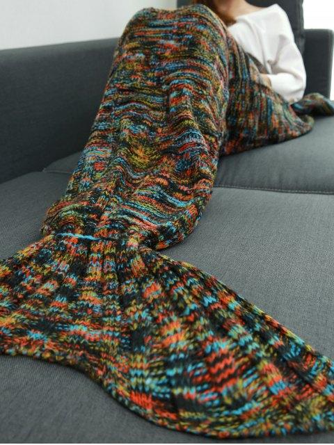 fancy Wrap Mermaid Tail Blanket -   Mobile