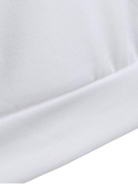 lady Casual Raglan Sleeve Hoodie - PINK L Mobile