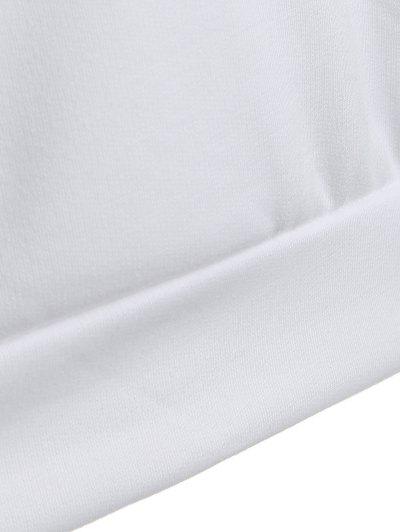 Casual Raglan Sleeve Hoodie - PINK L Mobile