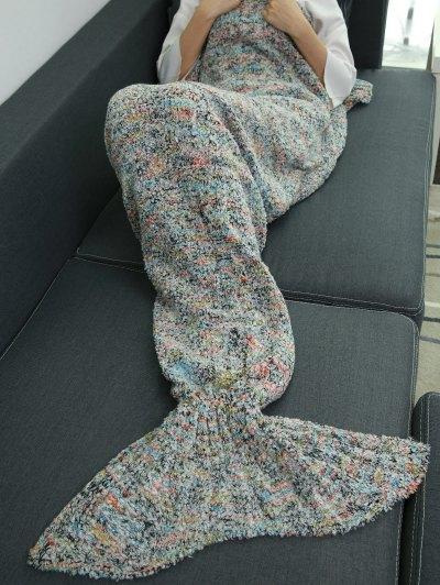 Sleeping Bag Wrap Mermaid Blanket - COLORMIX  Mobile