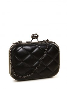 Kiss Lock Quilted Evenig Bag