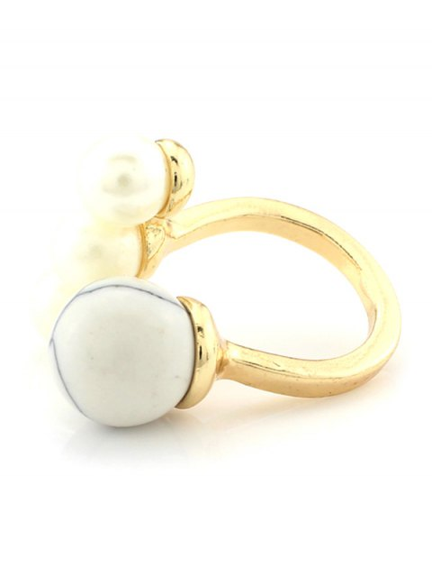 latest Faux Pearl Ball Ring -   Mobile