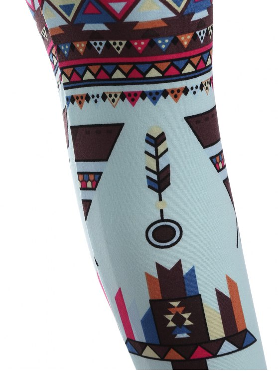 Printed Nordic Leggings - COLORMIX ONE SIZE Mobile
