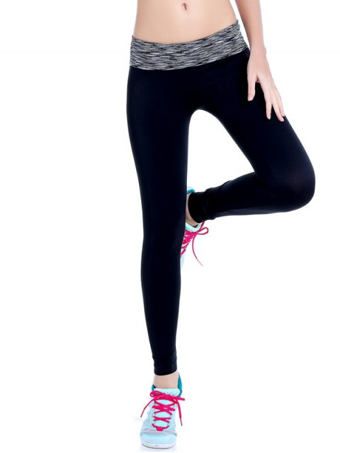 new Stretchy Space Dyed Yoga Leggings -   Mobile