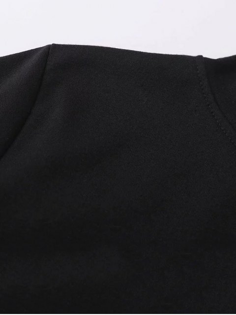 online Striped Classic Hoodie - BLACK XL Mobile