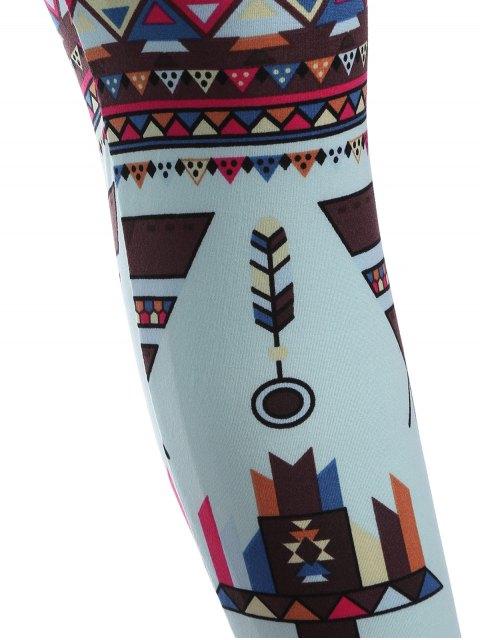 unique Printed Nordic Leggings - COLORMIX ONE SIZE Mobile