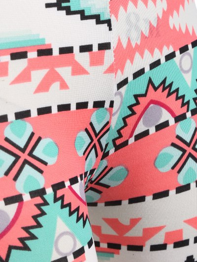 Printed Stretch Leggings - COLORMIX ONE SIZE Mobile