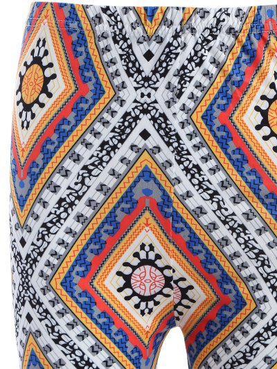 Diamond Print Leggings - COLORMIX ONE SIZE Mobile