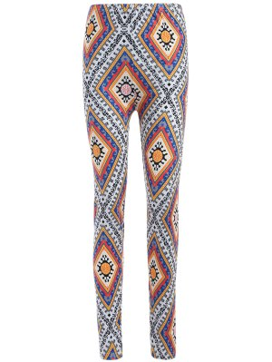 Diamond Print Leggings