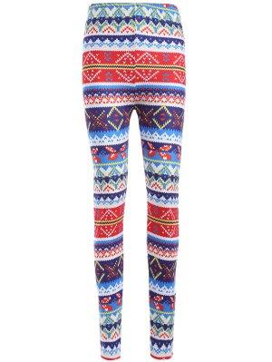 Colorful Printed Winter Leggings