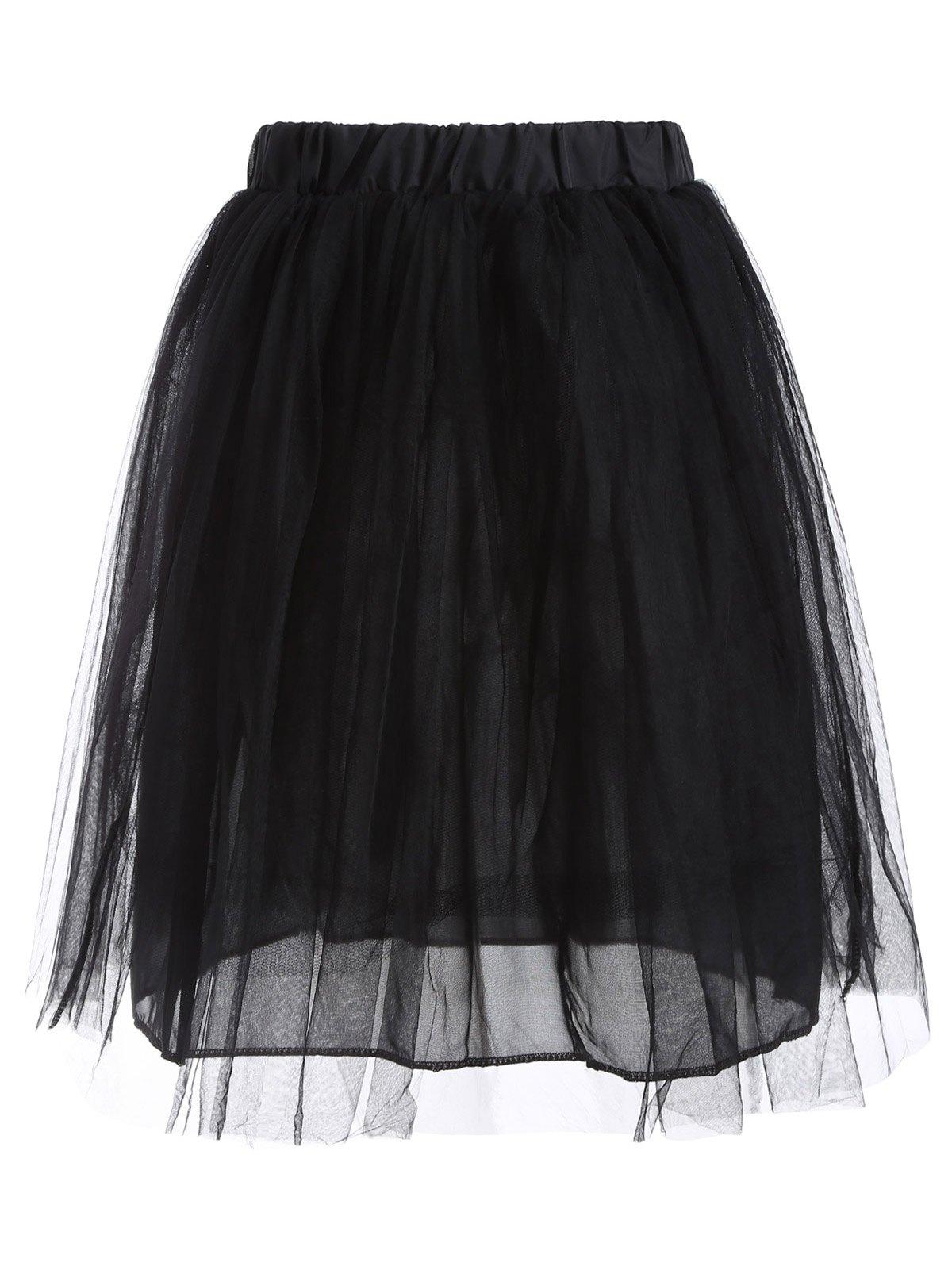 Ball Gown Mesh Skirt