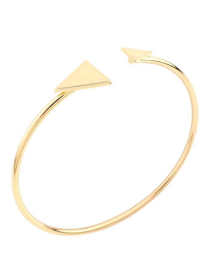 Vintage Alloy Triangle Cuff Bracelet