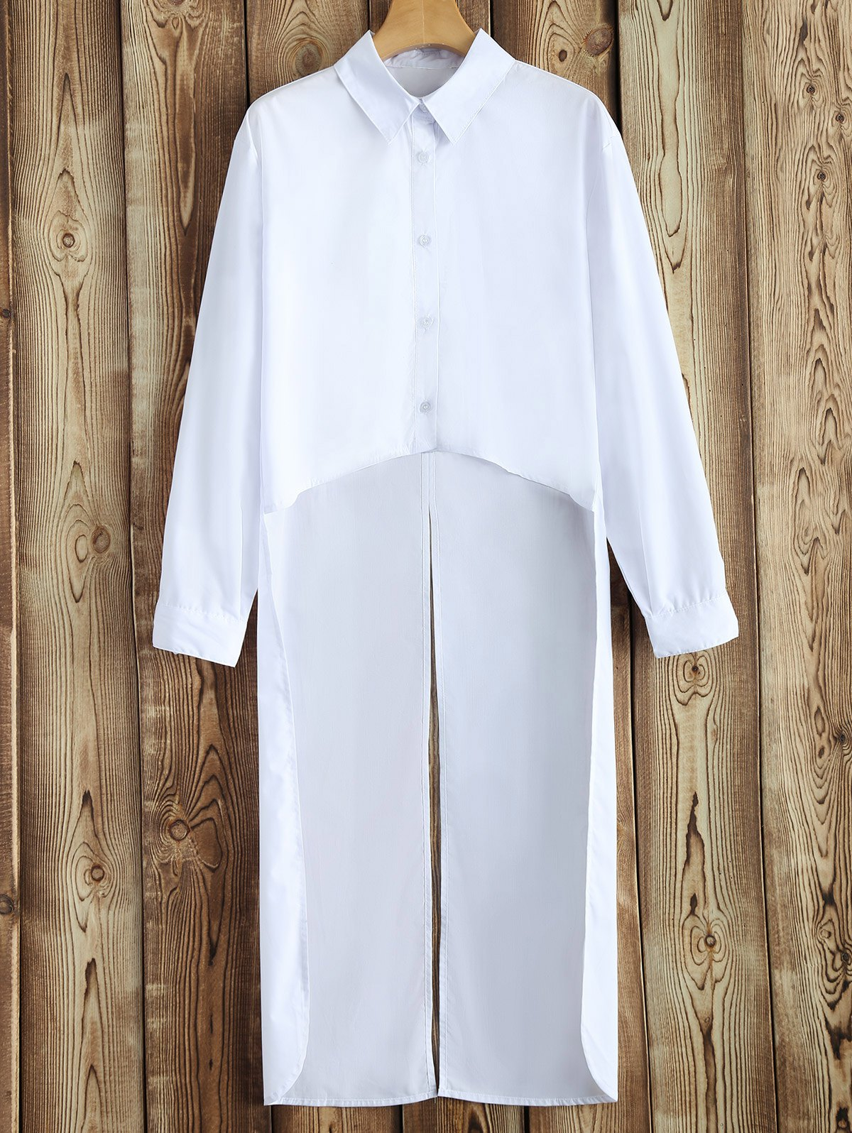 High-Low Slit Shirt