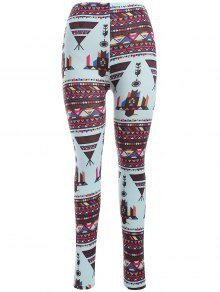 Leggings De Yoga Moulants Imprimés Motif Coloré