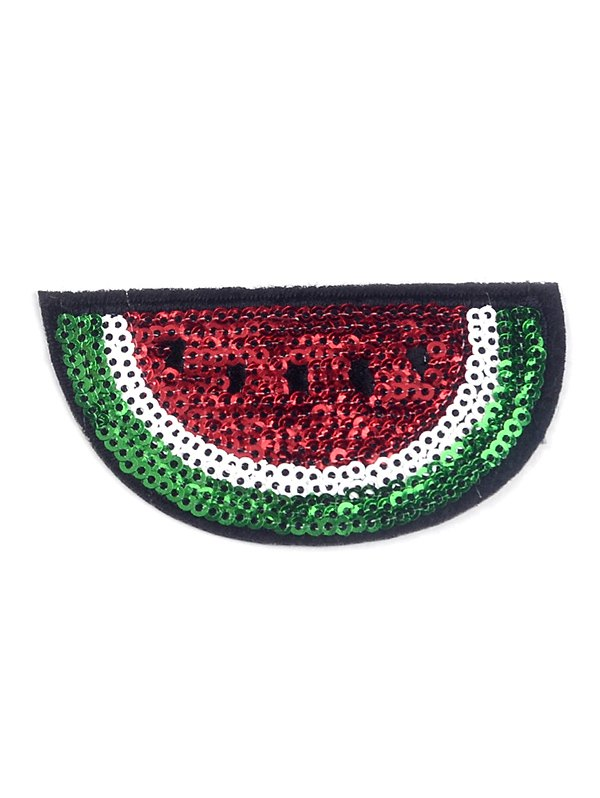 10 PCS Watermelon Embroidered Patches