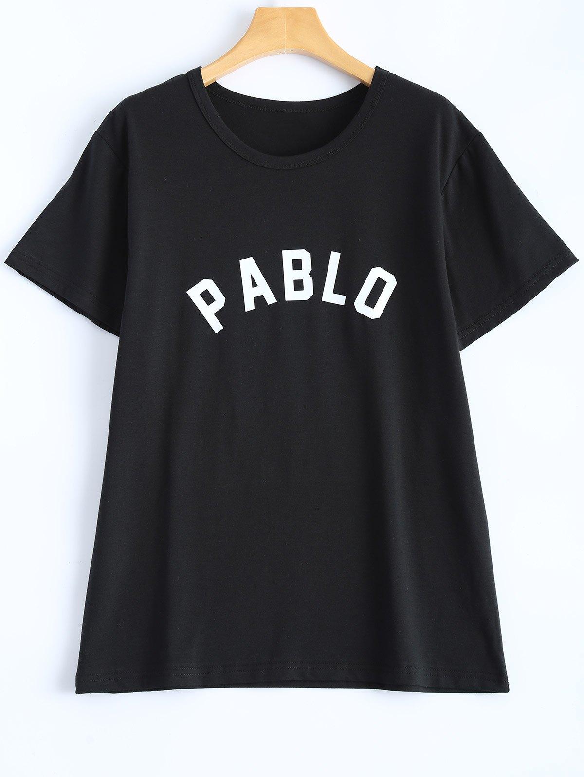 Letter Streetwear T-Shirt