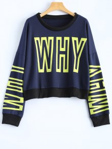 Graphic Dropped Shoulder Sweatshirt