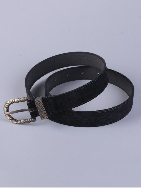 Trousers Wear Embellished Buckle Belt - BLACK  Mobile