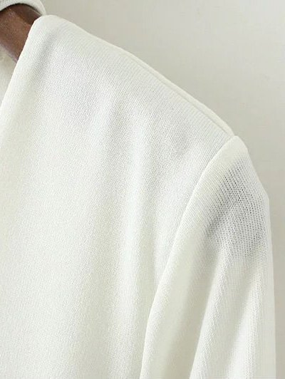 Turtle Neck Knitwear - BLACK M Mobile