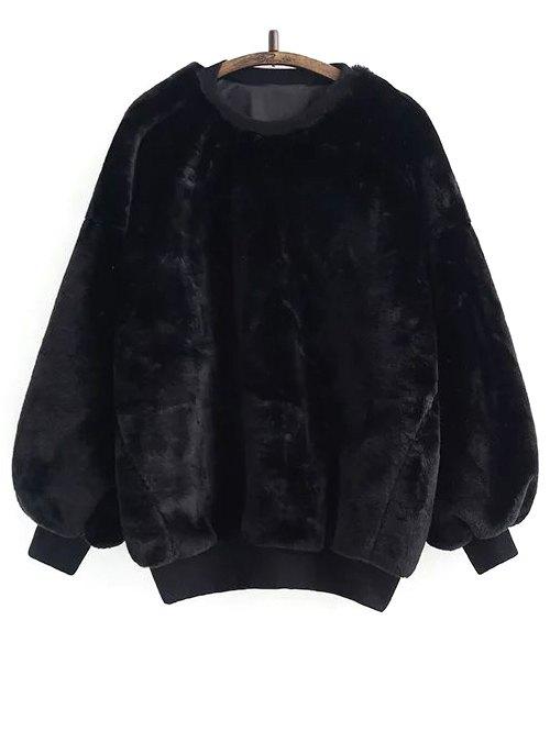 Fleece Sherpa Sweatshirt