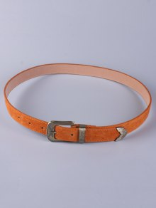 Trousers Wear Buckle Retro Belt