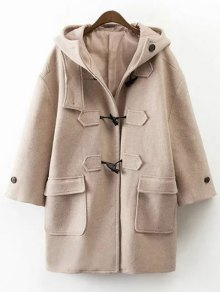 Hooded Duffel Walker Coat