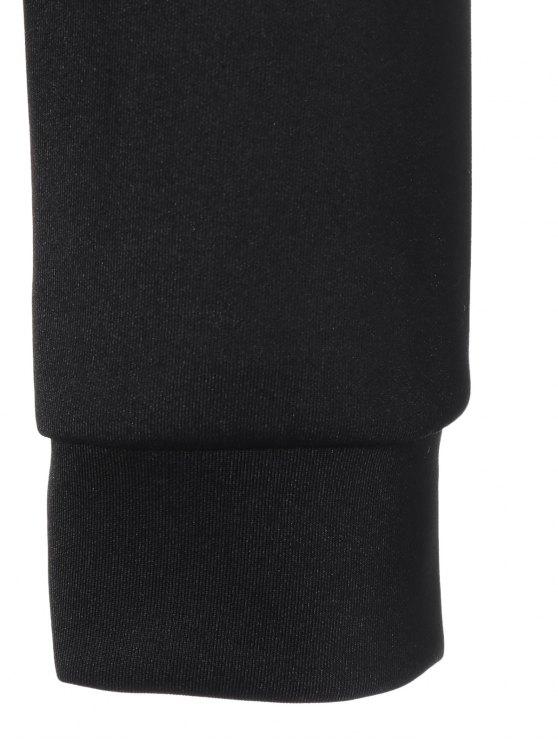 Casual Skull Sweatshirt - BLACK XL Mobile