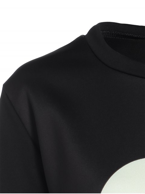new Casual Skull Sweatshirt - BLACK L Mobile