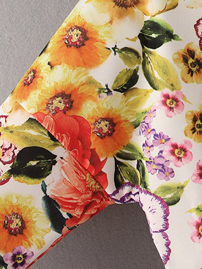 Vintage Floral Sweatshirt - JACINTH S Mobile