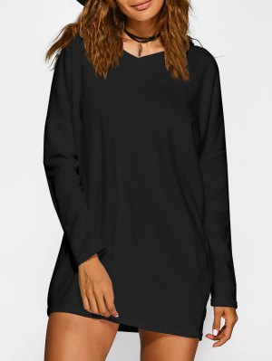 Loose Long V Neck Sweater