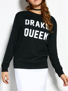 Crew Neck Sweatshirt With Text