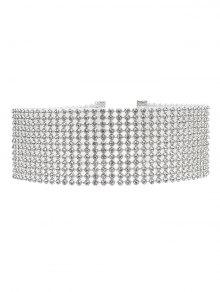 Rhinestoned Embellished Necklace