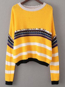 Sequined Beading Sweater