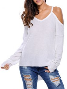 Cami Cold Shoulder Knitwear