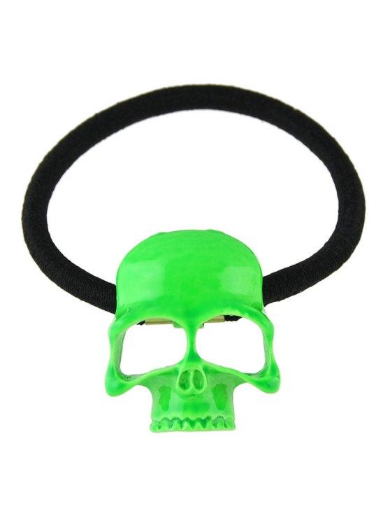 Vintage Skull Elatic Hair Band -   Mobile