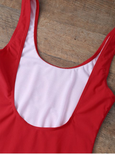 lady Rose All Day Swimsuit - RED M Mobile
