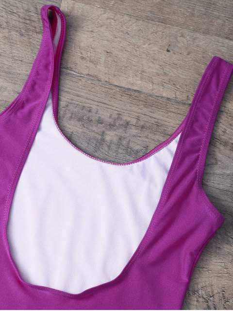 new Rose All Day Swimsuit - VIOLET ROSE L Mobile
