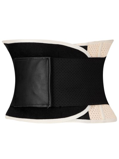 Stretchy Waist Training Corset - APRICOT 2XL Mobile
