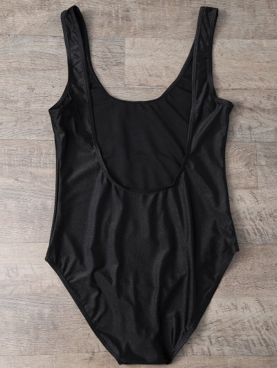 Rose All Day Swimsuit - BLACK XL Mobile