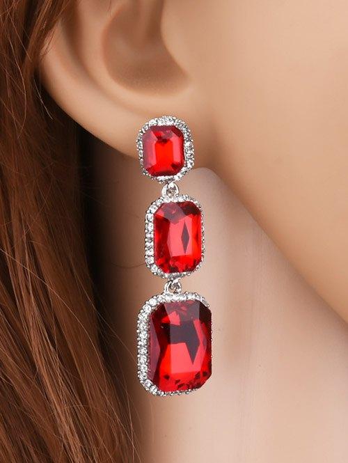 Faux Gem Earrings