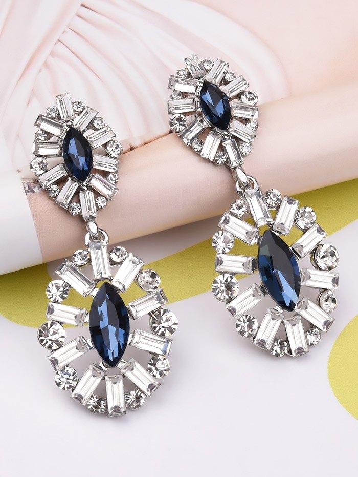 Faux Crystal Earrings