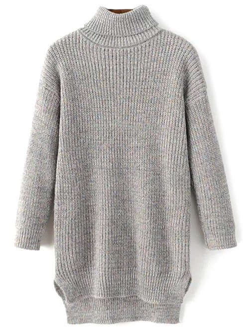 Turtleneck Heathered Sweater