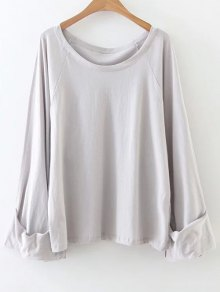 Scoop Neck Tunic Tee