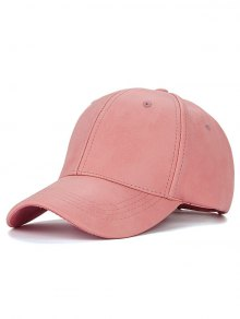 Casual PU Leather Baseball Hat