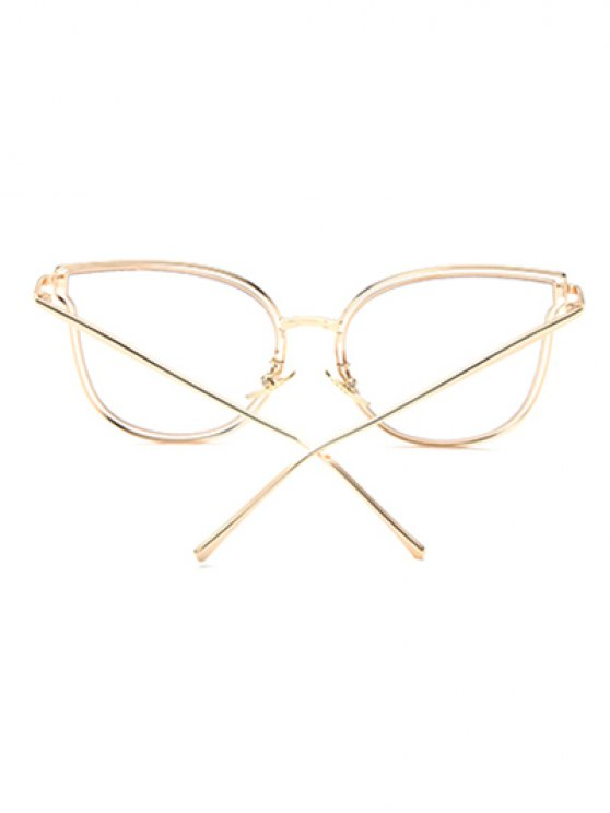 Hollow Out Butterfly Shaped Sunglasses - TRANSPARENT  Mobile