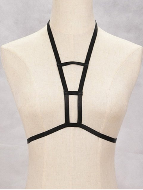 lady Cut Out Bra Bondage Harness Body Jewelry -   Mobile